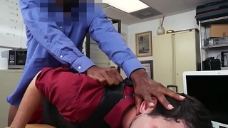 Young interracial auditdonor POV facialized