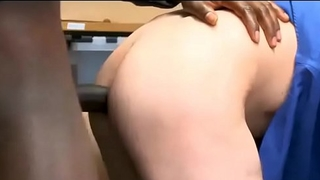 Tiny Twink Shoplifter Double Dick Bareback Fuck