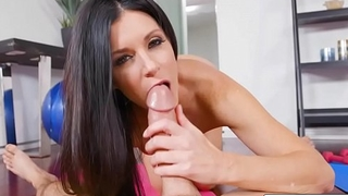 Sultry MILF India Summer Spreads Wide