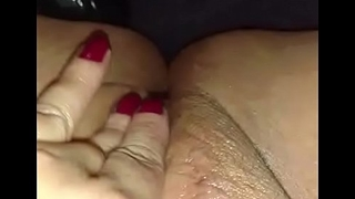 Erica playing with her super sopping tight pussy for me part 4
