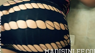 Enveloping Natural Big Ass PAWG Madisin Lee Booty Turbulence