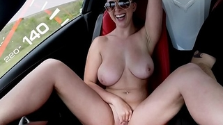 BANGBROS - Big Tits Babe Brooke Wylde Is Fast, But Not Furious!