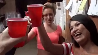 Sluty Party Hot Girls (bailey &amp_ natalia) Bang Hard Style In Group video-08