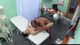 Busty euro wanks doctors cock
