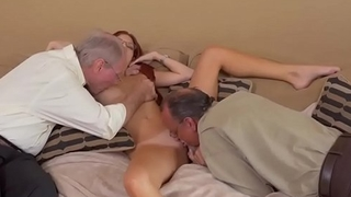 Amateur called me daddy with the addition of old young tied Frannkie And The Gang Take