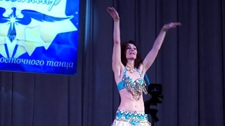 My debut at the contest of oriental dance &quot_Star of Altair&quot_